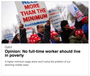 Headline of Newsday op-ed