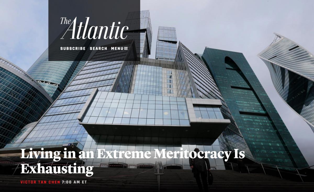 Extreme Meritocracy