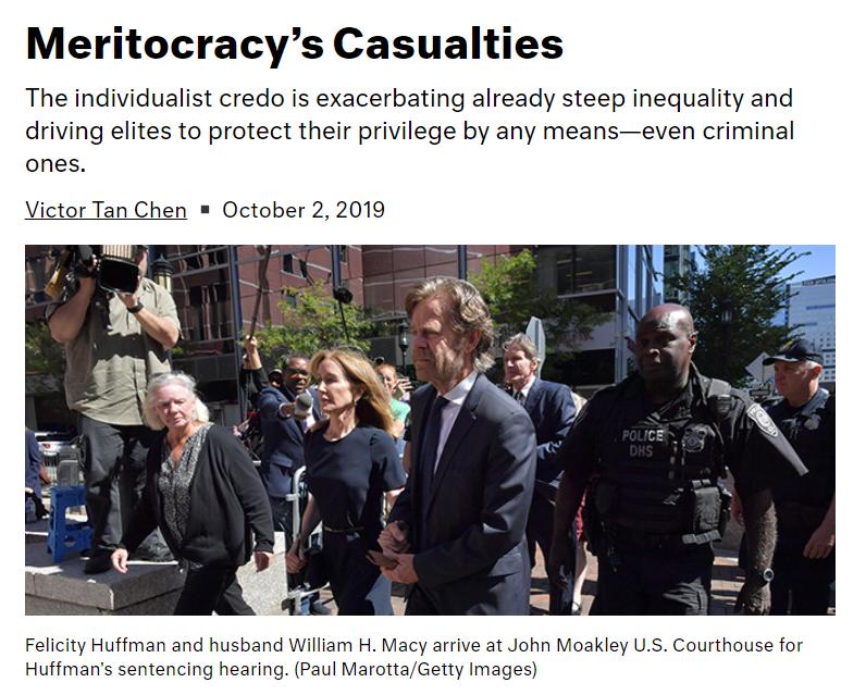Dissent - Meritocracy's Casualties